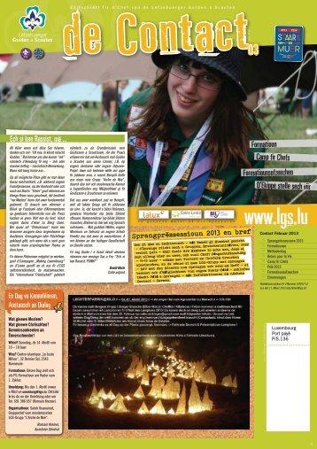 Contact 03 / 2012-2013 - LGS