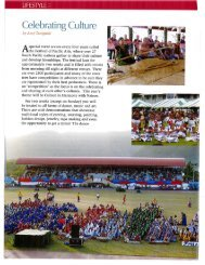 Generations Magazine February/March 2012 - Pacific Islands Institute
