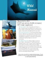 Wild Hawaii - Pacific Islands Institute