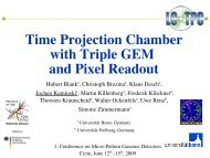 Time Projection Chamber with Triple GEM and Pixel Readout