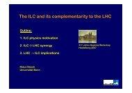 LHC/ILC - Universität Bonn