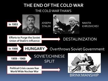 Lesson #59 Cold War Ends