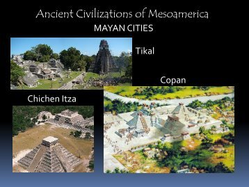 Ancient Civilizations of Mesoamerica