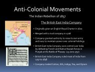 74 - Anti-Colonial Movements