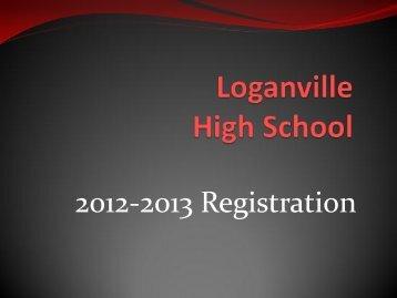 2012 - 2013 Registration Information - Loganville High School