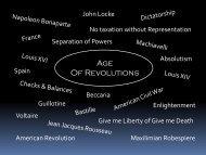 Lesson #35 Latin American Revolutions