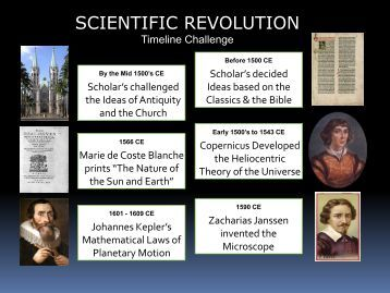 Lesson #30 Scientific Revolution