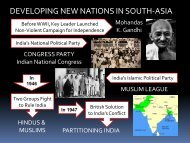 Lesson #61 New Nations of the World