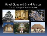 60 - Royal Cities and Grand Palaces - Loganville High School
