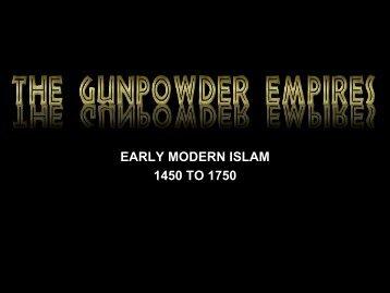 Muslim Empires - Loganville High School