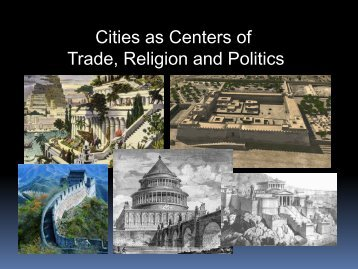 The Seven Wonders & Urban Developments