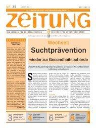 Zeitung für Suchtprävention - Sucht-Hamburg