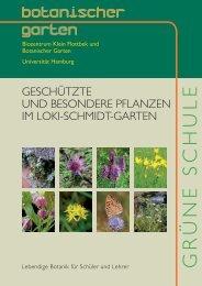 Pflanzenrundgang Artenschutz - Universität Hamburg