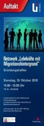 Veranstaltungsflyer (PDF 345 KB) - Landesinstitut für Lehrerbildung ...