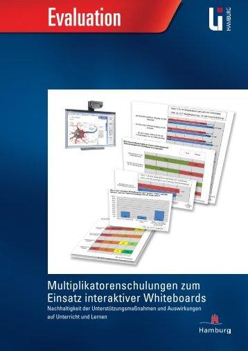 Multiplikatorenschulungen zum Einsatz interaktiver Whiteboards