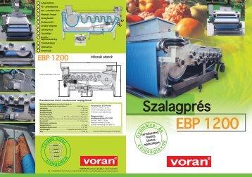 EBP 1200 - voran Maschinen GmbH