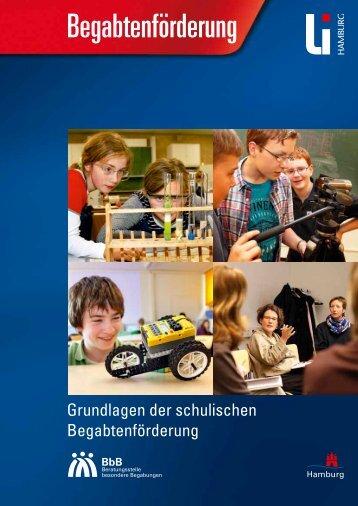 Grundlagen der schulischen Begabtenförderung (PDF 2,4 MB)