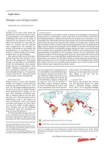 © Nederlands Tijdschrift voor Geneeskunde Studenten-editie