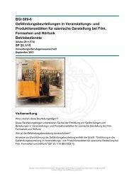 BGI 809-6 - beim Carl Heymanns Verlag