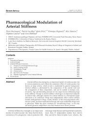 Pharmacological Modulation of Arterial Stiffness