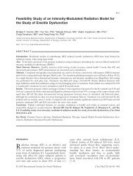 Feasibility Study of an Intensity-Modulated Radiation Model for the ...