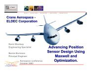Advancing Position Sensor Design Using Maxwell and Optimization
