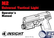 Universal Tactical Light - OpticsPlanet.com