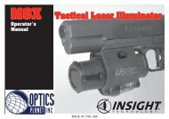 Operator's Manual - OpticsPlanet.com