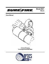Model M21 Mount - OpticsPlanet.com