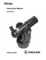 Instruction Manual - OpticsPlanet.com