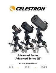 C9.25 SGT Manual - Celestron