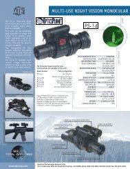 ATN PS14-2 Night Vision Monocular ... - OpticsPlanet.com