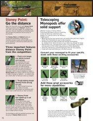Stoney Point: Go the distance Telescoping ... - OpticsPlanet.com