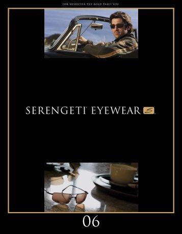 2006 Serengeti Sunglasses Catalog