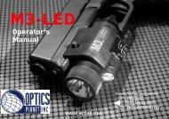 M3-LED Manual - OpticsPlanet.com