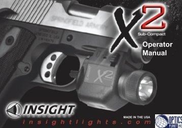 Operator Manual - OpticsPlanet.com