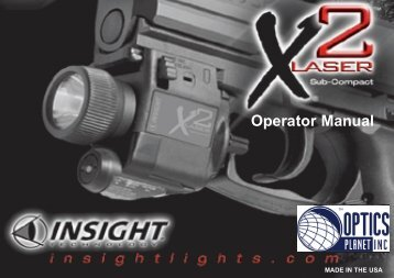 Operator Manual - OpticsPlanet.com