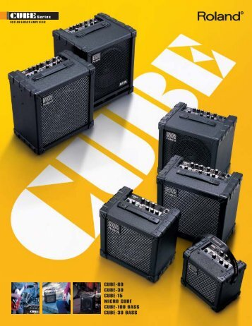 CUBE-Series Catalog - Roland