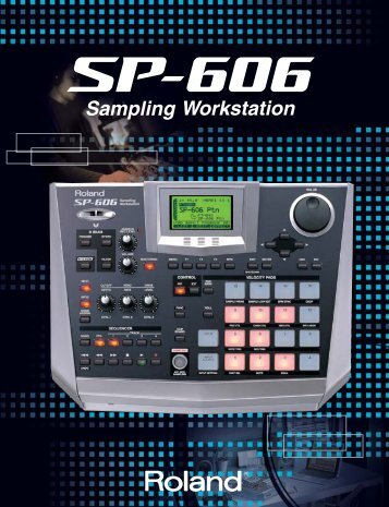 SP-606 Brochure - Roland