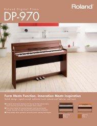 Roland Digital Piano DP-970