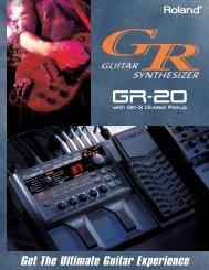 GR-20 Brochure - Roland