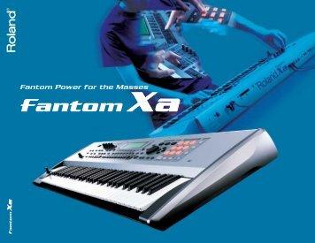 Fantom-Xa Brochure - Roland