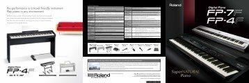 FP-7F_4F Brochure - Roland