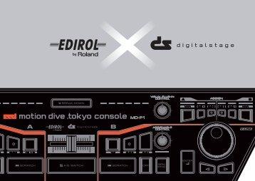 motion dive .tokyo console - Roland