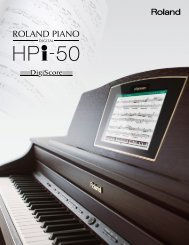 HPi-50 Catalog - Roland
