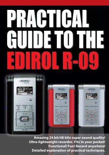 R-09 Guide Book - Roland