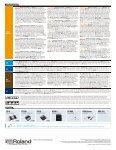 Roland Amp Catalog 2010 - Page 7