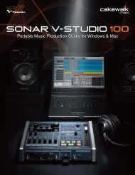 Portable Music Production Studio for Windows & Mac - Roland