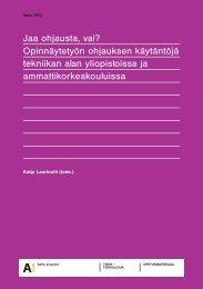 Jaa ohjausta vai SISASIVUT 260111.p65 - Kirjasto - TKK