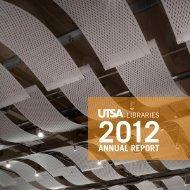 Download a pdf version - UTSA Libraries - The University of Texas ...